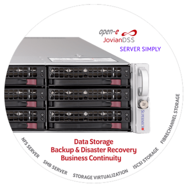 Open-E JovianDSS Solutions with Supermicro and Serversimply