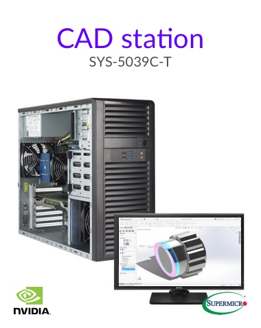 Cad Station Supermicro