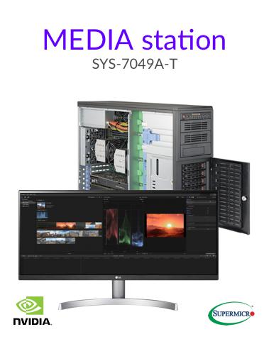 Media editing workstation