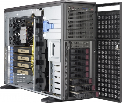 Modelling 3D Workstation SYS-5049A-TR Supermicro