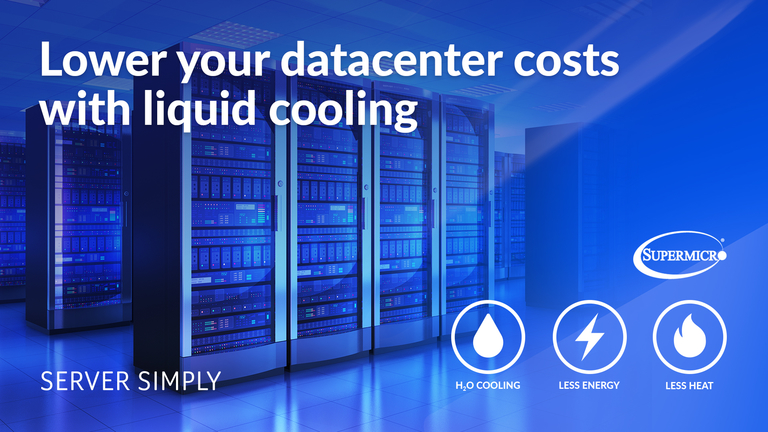 Liquid cooling systems Supermicro Serversimply