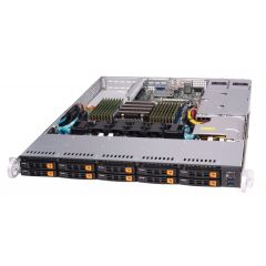 WIO A+ Server AS-1114S-WN10RT - 1U - Single AMD EPYC Processors - up to 4TB memory - 10x NVMe - 2x 10Gb/s RJ45 - OOB license - 750W Redundant
