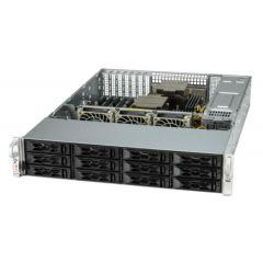 A+ Server AS-2024S-TR - 2U - Dual AMD EPYC Processors - up to 4TB memory - 8x SATA + 4x NVMe - 2x 1Gb/s RJ45 - OOB license - 920W Redundant