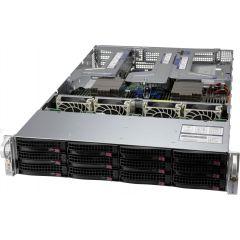 Ultra A+ Server AS-2024US-TRT - 1U - Dual AMD EPYC Processors - up to 8TB memory - 12x SATA/SAS (4xNVMe) - 2x 10Gb/s RJ45 - OOB license - 1600W Redundant