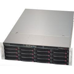 JBOD storage SuperChassis CSE-836BE2C-R609JBOD - 3U - 16x SAS - 12Gb/s SAS dual expander backplane - 600W Redundant