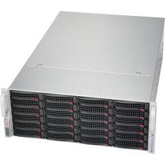 SuperServer OEM solution - 4U - X11SCZ-F - Single Intel Xeon E-2200 Processors - up to 128GB memory - 24x SATA/SAS - 2x 1Gb/s RJ45 - 1200W Redundant