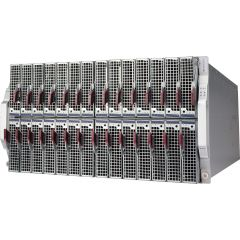 MicroBlade Enclosure SBE-628E-420D - 6U - up to 28 blade servers - up to 2x 10G Ethernet switch - 4x 2000W Redundant (N + 1 or N + N) DC input