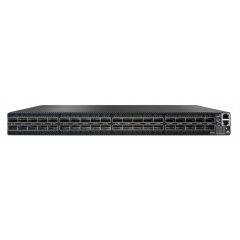 Mellanox MQM8700-HS2R Quantum™ based HDR InfiniBand 1U switch, 40 QSFP56 ports, 2 power supplies (AC), x86 dual core, standard depth, C2P airflow