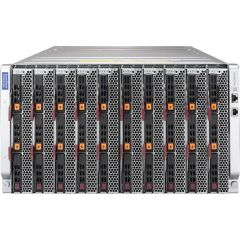 SuperBlade Enclosure SBE-610J-622 - 6U - up to 10 blade servers - up to 4x 10G/25G Ethernet switch - 6x 2200W Redundant (N + 1 or N + N)