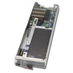GPU SuperBlade Server SBI-4119MG-X - module - Single Intel Xeon E-2200 Processors - up to 128GB memory - 1x M.2 SATA/NVMe - 2x 10Gb/s Ethernet  - 1x GPU