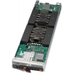 SuperBlade Server SBI-4129P-C2N - module - Dual Intel Xeon Scalable Processors - up to 3TB memory - 2x SATA/SAS/NVMe - 2x 10Gb/s Ethernet - Broadcom 3108