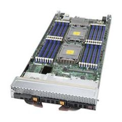 SuperBlade Server SBI-620P-1C3N - module - Dual Intel Xeon Scalable Processors - up to 8TB memory - 3x SATA/SAS (2x NVMe) - 2x 25Gb/s Ethernet - Broadcom 3108