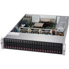 SuperStorage SSG-2029P-ACR24H - 2U - Dual Intel Xeon Scalable Processors - up to 4TB memory - 24x SATA/SAS - 3x Broadcom 3108 - 2x 10Gb/s RJ45 - 1200W Redundant