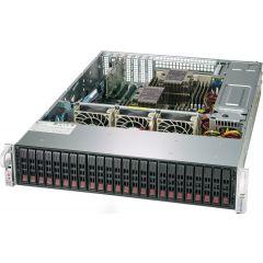 SuperStorage SSG-2029P-E1CR24H - 2U - Dual Intel Xeon Scalable Processors - up to 4TB memory - 24x SATA/SAS - Broadcom 3108 - 2x 10Gb/s RJ45 - 1200W Redundant