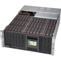 SuperStorage SSG-6049P-E1CR45L+ - 4U - Dual Intel Xeon Scalable Processors - up to 6TB memory - 45x SATA/SAS - Broadcom 3616 - 1600W Redundant
