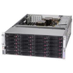 Storage SuperServer SSG-640P-E1CR36H - 4U - Dual Intel Xeon Scalable Processors - up to 4TB memory - 36x SATA/SAS - Broadcom 3808, JBOD expansion - 2x 10Gb/s RJ45 - 1600W Redundant