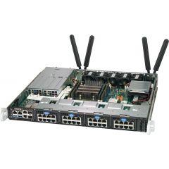 SuperServer SYS-1019D-12C-FRN5TP - 1U - Intel Xeon D-2163IT Processor - up to 512GB memory - 2x NVMe and 2x SATA (fixed) - 2x 10Gb/s RJ45 + 2x 10Gb/s SFP+ - 400W Redundant