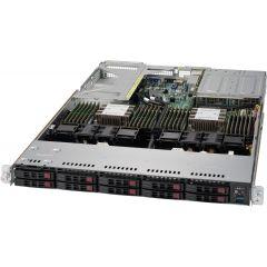 Ultra SuperServer SYS-1029U-TR4T - 1U - Dual Intel Xeon Scalable Processors - up to 6TB memory - 10x SATA/SAS - 4x 10Gb/s RJ45 - 750W Redundant