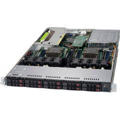 Ultra SuperServer SYS-1029UX-LL3-S16 - 1U - Dual Intel Xeon Gold 6154 Scalable Processor - 192MB DDR4-2666 ECC Registered memory - 8x SATA/SAS - Broadcom 3108 - 2x NVMe - 4x 1Gb/s RJ45 - 750W Redundant