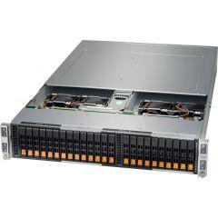 AF-8: 2U 4-node BigTwin, 128TB (32TB per node)