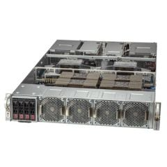 GPU SuperServer SYS-220GQ-TNAR+ - 2U - Dual Intel Xeon Scalable Processors - up to 8TB memory - 4x SATA - NVIDIA HGX A100 4-GPU - 3000W Redundant