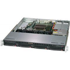SuperServer SYS-5019C-MR - 1U - Single Intel Xeon E-2200 Processors - up to 128GB memory - 4x SATA - 2x 1Gb/s RJ45 - 400W Redundant
