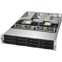 Ultra SuperServer SYS-6029U-TR4T - 2U - Dual Intel Xeon Scalable Processors - up to 6TB memory - 12x SATA/SAS - 4x 10Gb/s RJ45 - 1000W Redundant