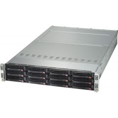 TwinPro SuperServer SYS-620TP-HTTR - 2U - 4 nodes - Dual Intel Xeon Scalable Processors - up to 4TB memory - 3x SATA - 2x 10Gb/s RJ45 - 2200W Redundant