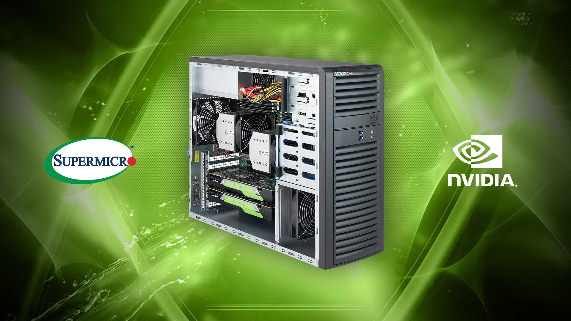 SuperWorkstation SYS-7039A-I